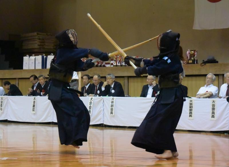 中堅戦での元木選手