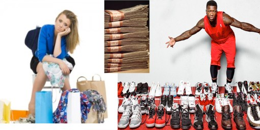 Ken Donaldson on shopping addiction