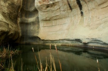 El Morro Natural Pool in Ramah, New Mexico.