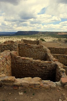 Atsinna Pueblo Ruin at El Morro in Ramah, New Mexico