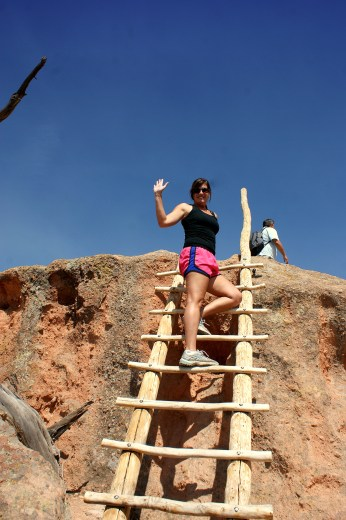 Tsankawi Trail head latter