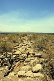 The top of the mesa at Tsankawi.
