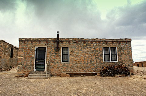 A house on Acoma Pueblo in New Mexico. (Photo/Kendra Yost)