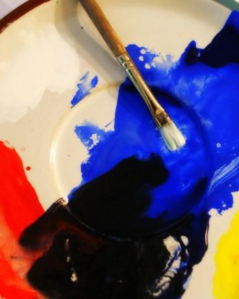 Acrylic Paint. Photo/Kendra yost