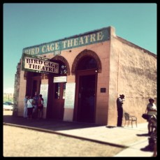The Bird Cage Theater in Tombstone Arizona. Photo/Kendra Yost