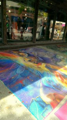 Hyde Park Chalk Walk 2014 in Tampa, FL. Photo/Kendra Yost