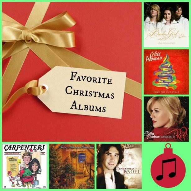 Favorite Christmas Albums