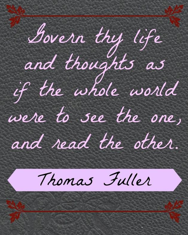 Thomas Fuller Quote
