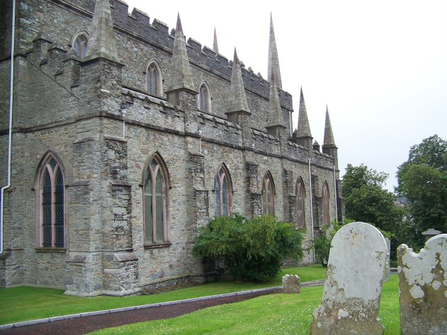 Down Cathedral, the Burial Place of St. Patrick