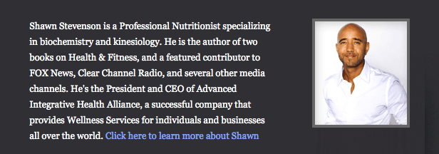 Shawn Stevenson Podcast