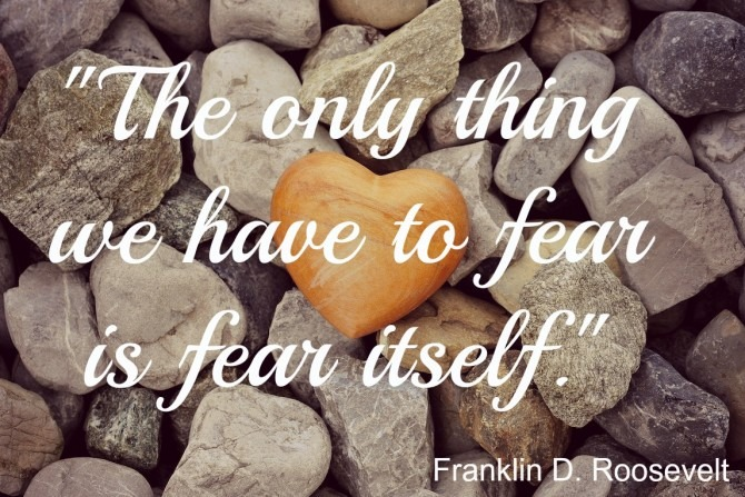 Fear Quote from FDR