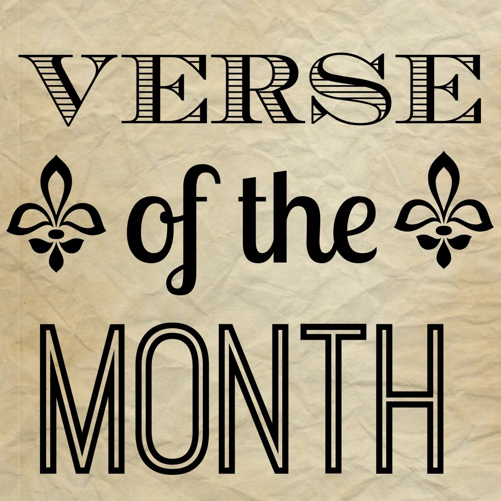 March Verse of the Month // Psalm 103:8