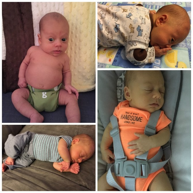Charlie 2 Months Collage