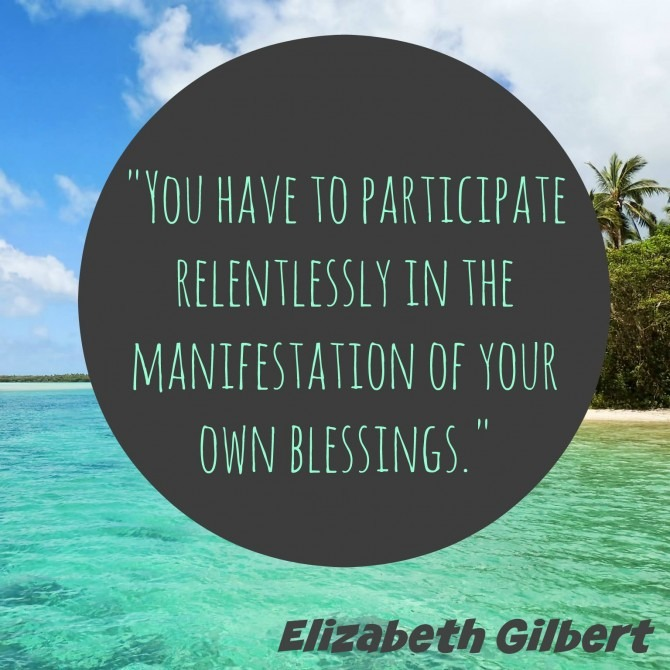 Quotable from Elizabeth Gilbert