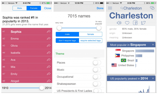 Nametrix App