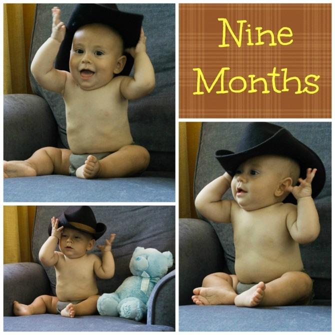 Cowboy Charlie at Nine Months