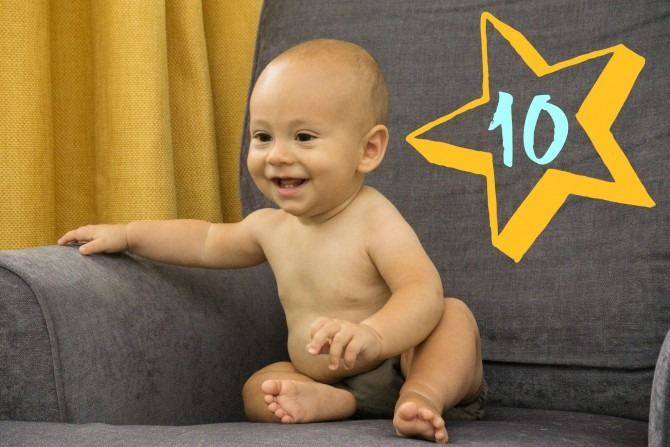 Charlie 10 Months