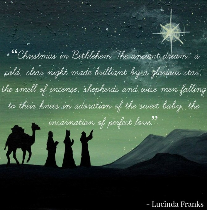 Christmas Quote from Lucinda Franks
