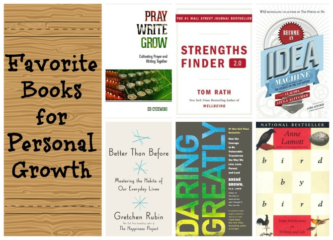 Favorite Books for Personal Growth