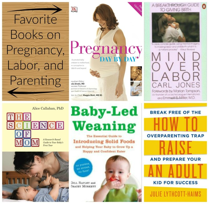 Favorite Books on Pregnancy, Labor, and Parenting