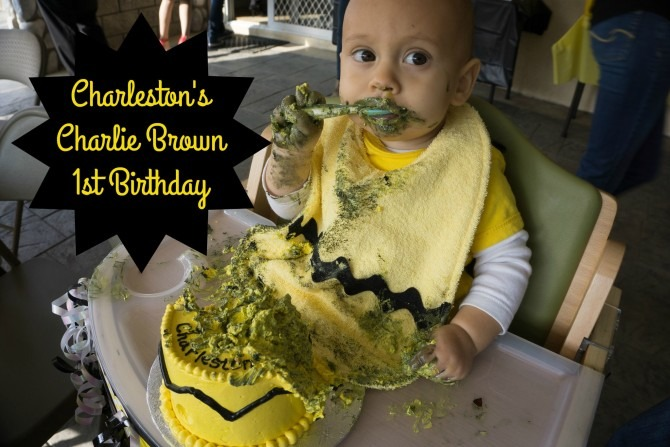 Charleston's Charlie Brown First Birthday