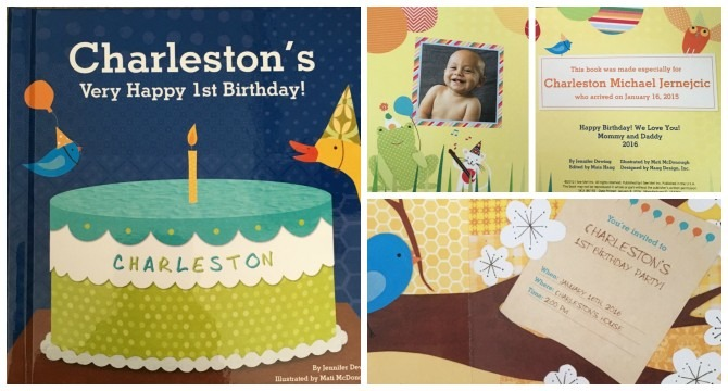 Charleston's First Birthday Board Book