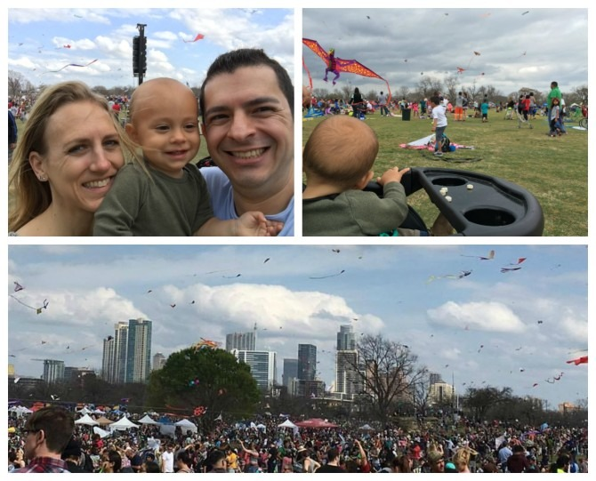 Scenes from the kite festival we attended downtown this past weekend. So much fun!