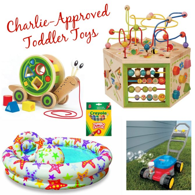 Charlie-Approved Toddler Toys