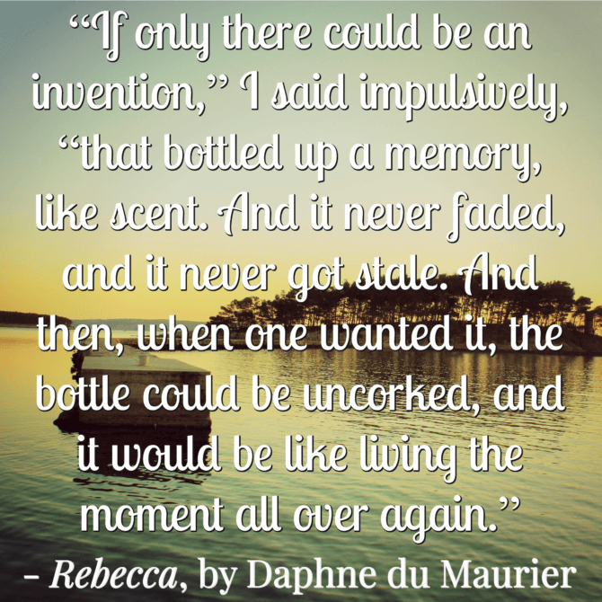 Quotable from Daphne du Maurier
