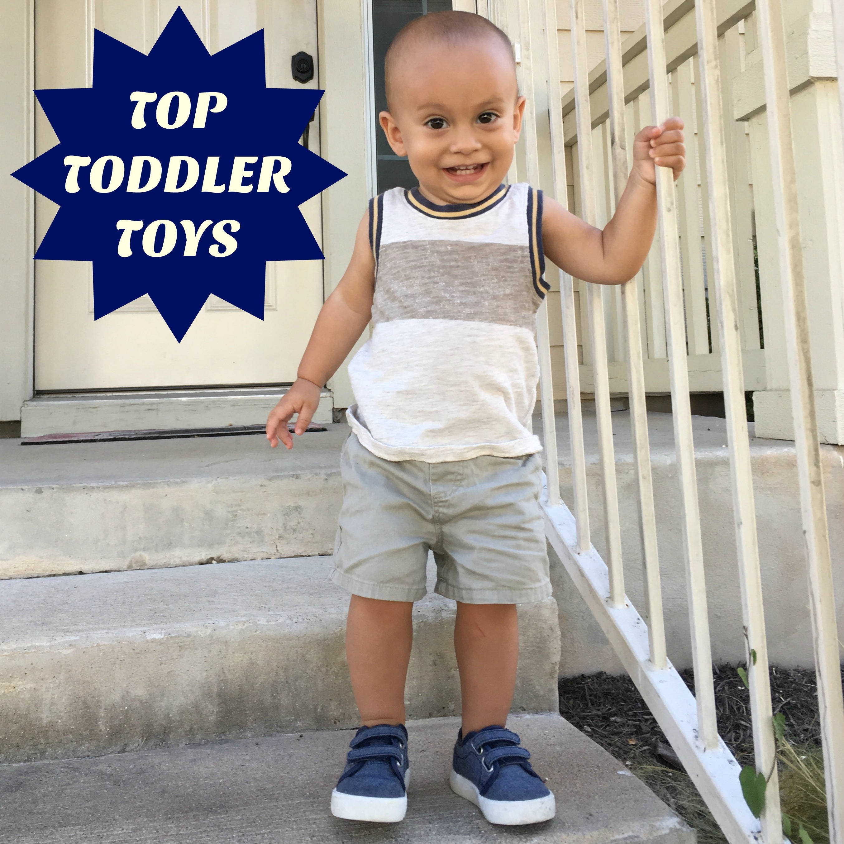 Cinco de Wednesday: Charlie-Approved Toddler Toys
