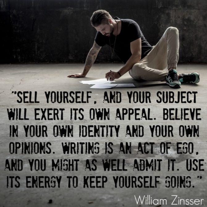 William Zinsser Quote 2