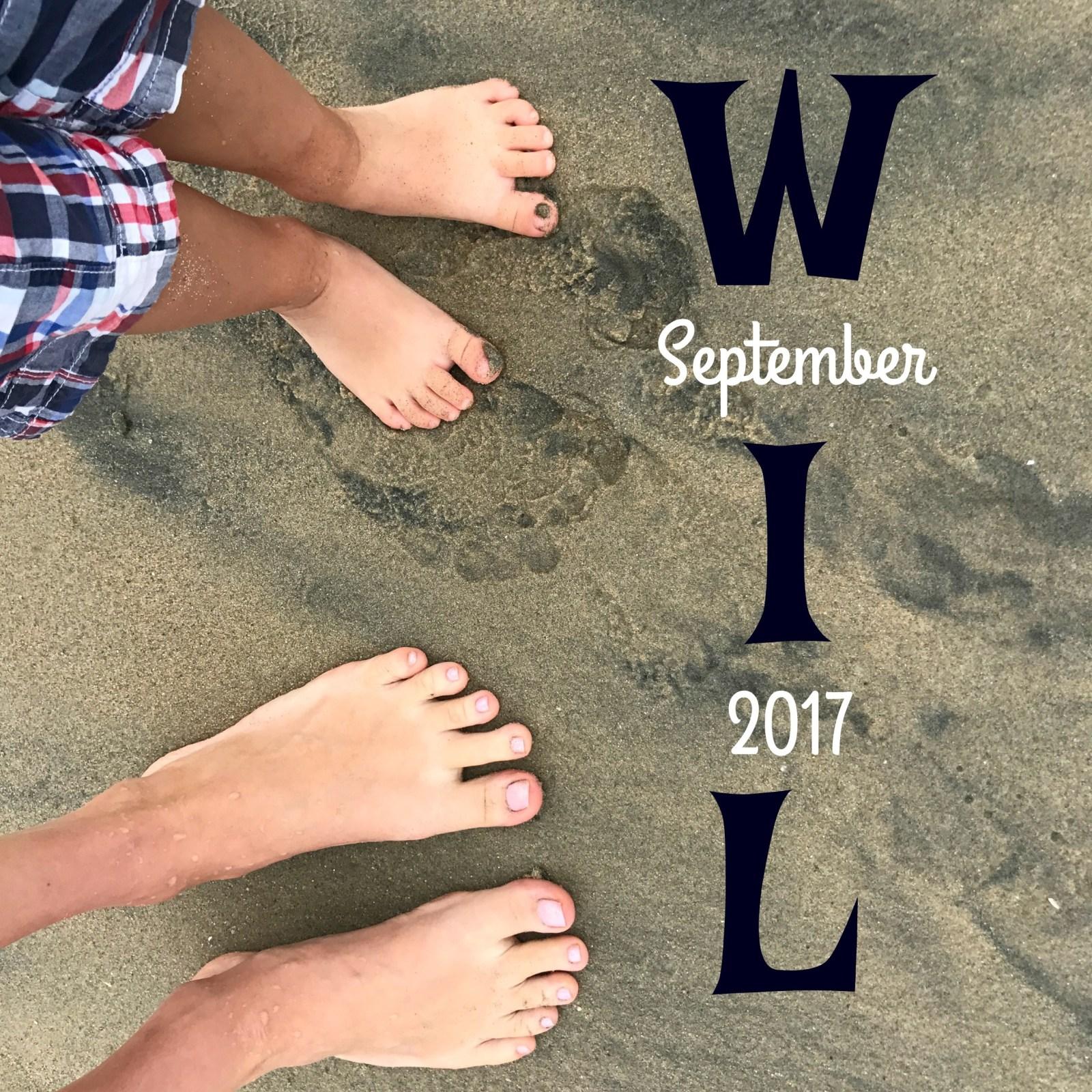 Thirteen Things I Learned in September  {2017}