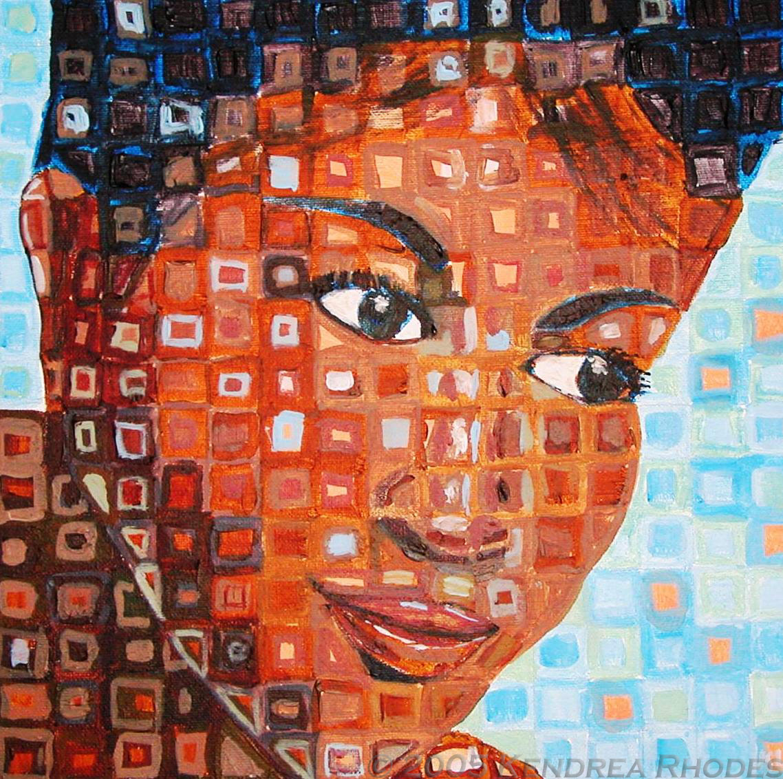 Aretha Franklin by ©Kendrea Rhodes for Out of the Blue exhibition