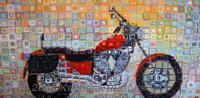 © 2008 Kendrea Rhodes all rights reserved ORANGE CRUISER www.kendreart.com