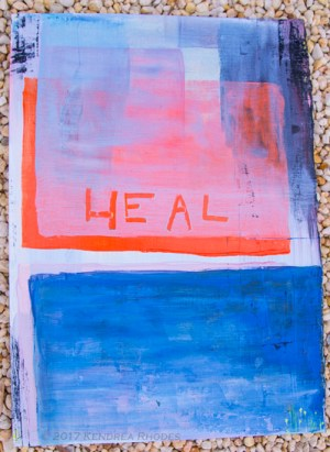 part 1 of Heal Chicago diptych by Kendrea Rhodes