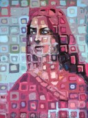 Colours of India by Kendrea Rhodes acrylic on canvas