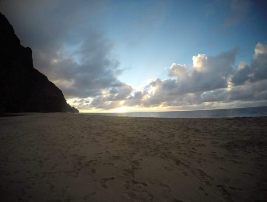 Hiking the Kalalau Trail - Day 2.5: Kalalau Beach