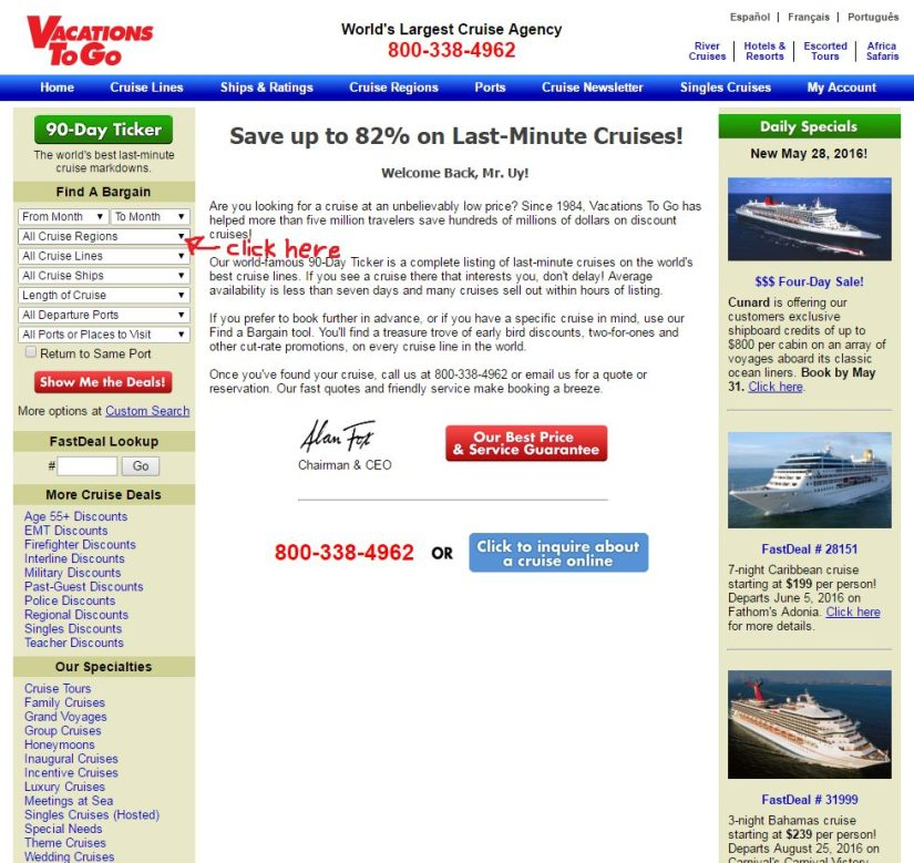 Cruise ships, The Starter's Guide to Canadian Travel Hacking Part 3: Cruise Ships