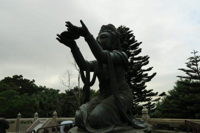 Hong Kong Giant Buddha Statue, Visiting the Hong Kong Giant Buddha Statue On Top of a Mountain
