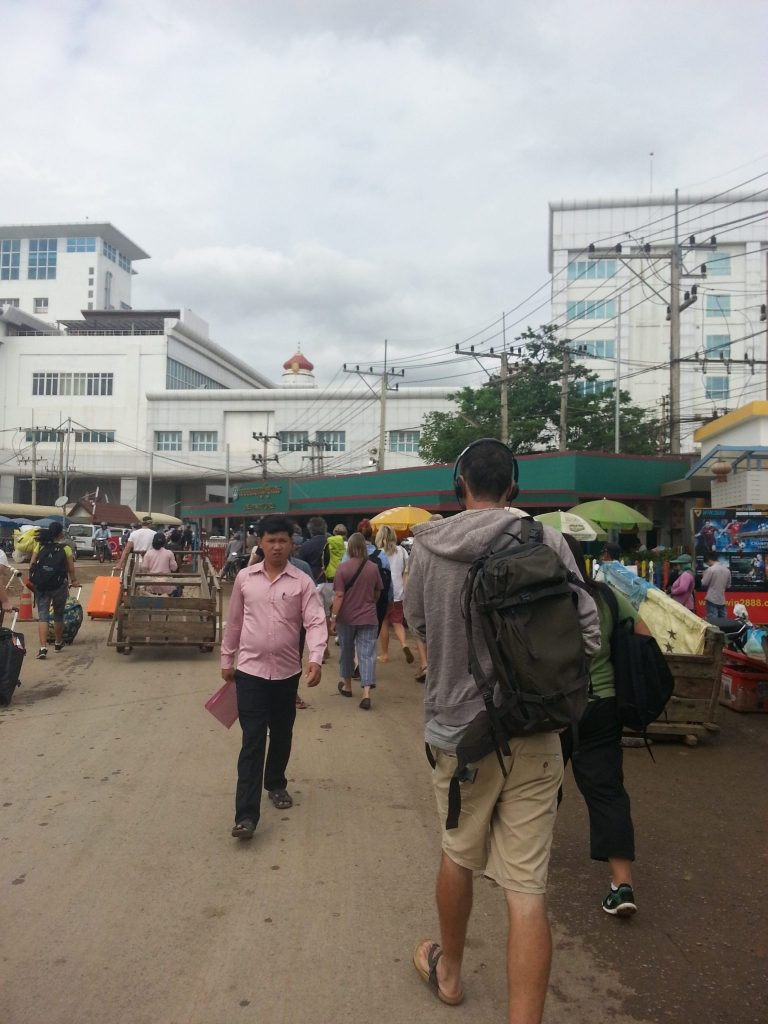 Cambodian border, Denied Exiting the Cambodian Border – A Miracle Happens