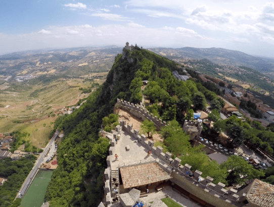 How to Enter San Marino from Rimini Italy (17 Pictures in the Country)