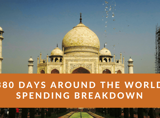 My Complete 380 Days Around the World Spending Breakdown