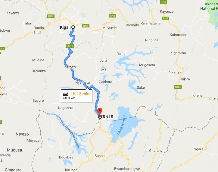 Kigali to Bujumbura