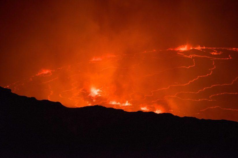 nyiragongo volcano trek, Mount Nyiragongo Volcano Trek – Hiking Up An Active Volcano in Democratic Republic of Congo