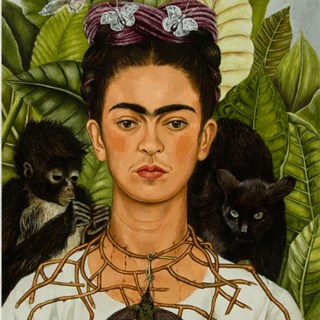 Frida Kahlo at NYBG with Karen Daubmann