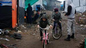 refugee camp, france