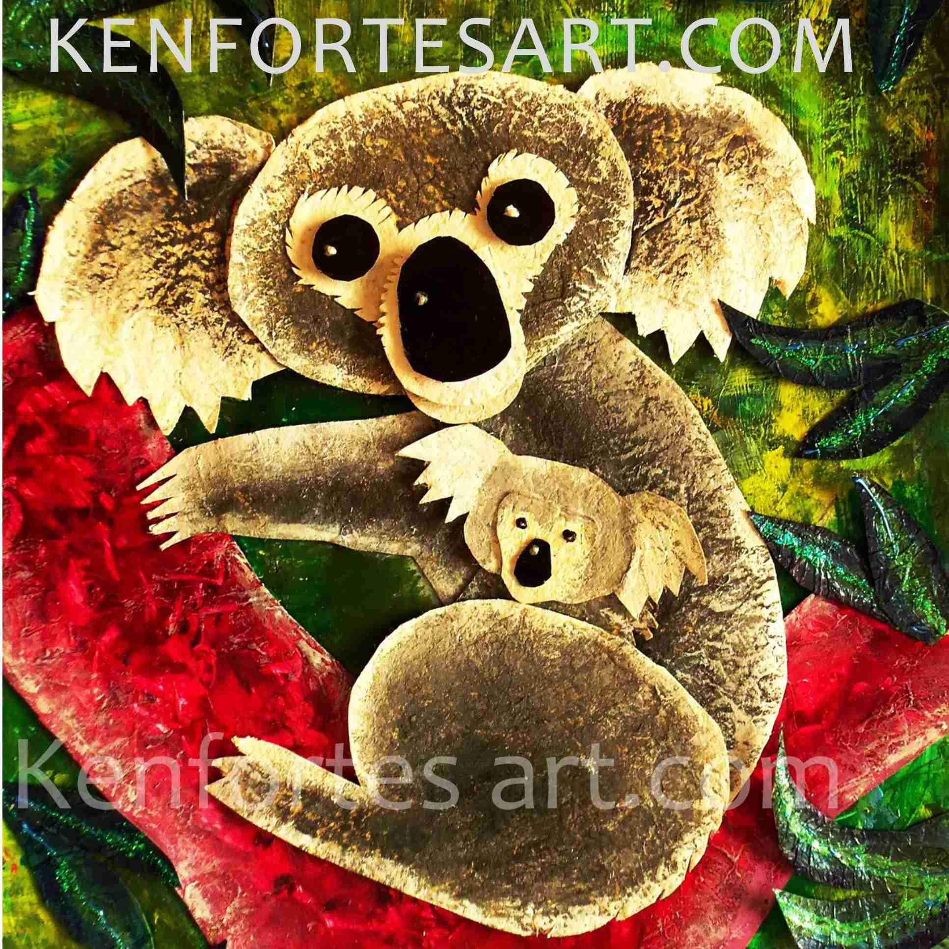 KENFORTES art KOALA acrylics
