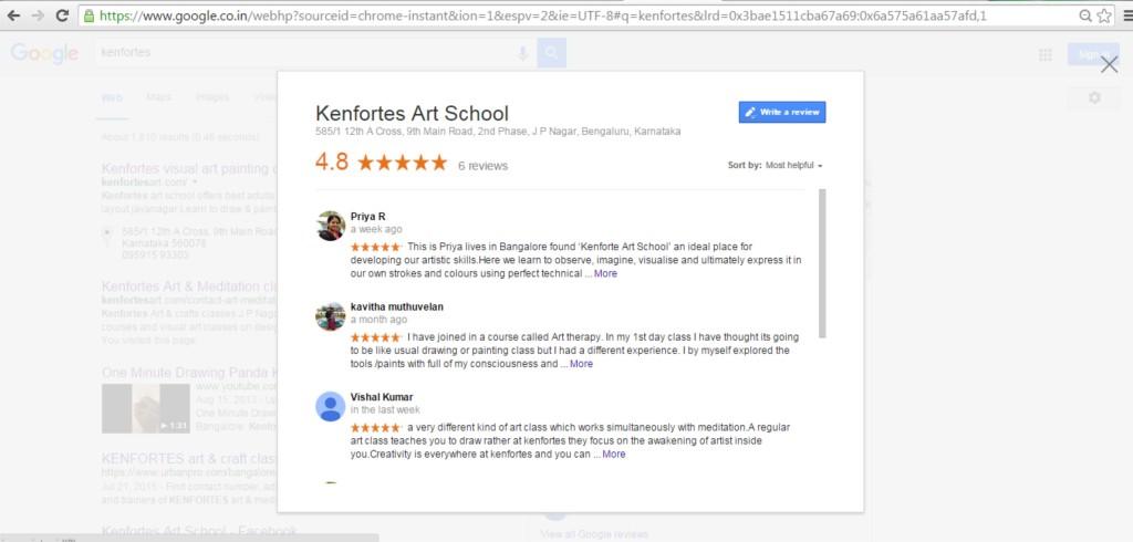 Kenfortes online art classes KenFortes painting fine Arts