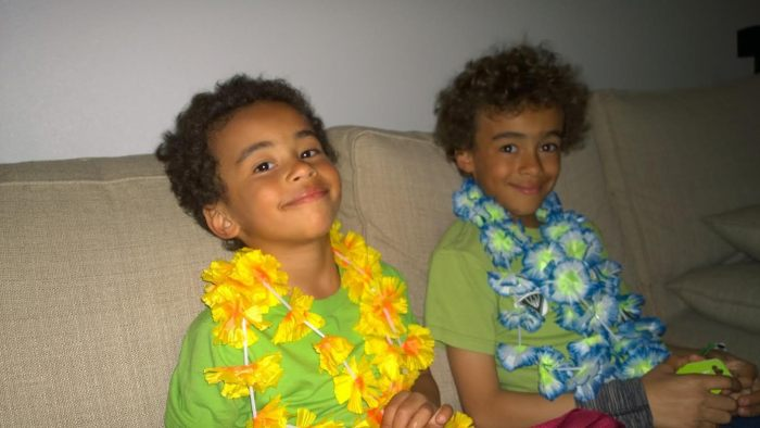 My Grandsons Alexander and Thomas