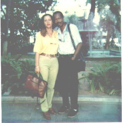 With Sonia in Caracas Venezuela